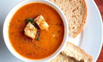 Томатный крем суп