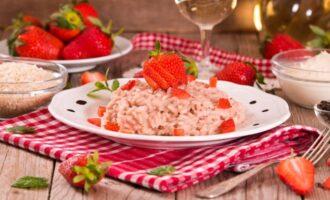 Рис с клубникой
