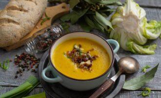 крем суп с цветной капустой